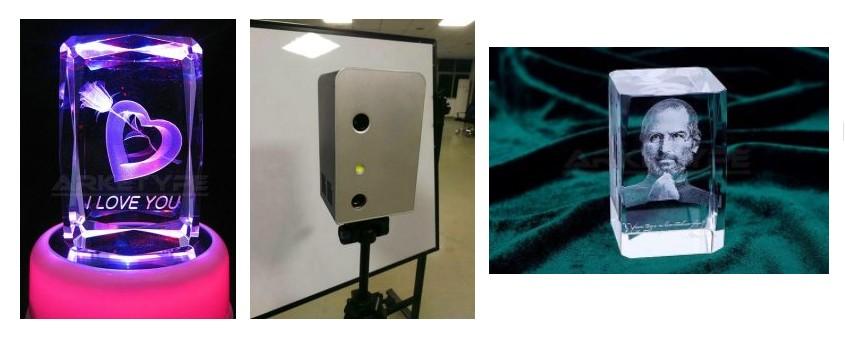 laser marquage gravure cristal